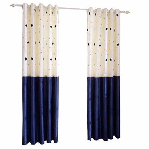 QPGGP Rideaux Simple Rideau De Tissu La Chambre Bay Store,A-168 x 270 CM (W x H)× 2