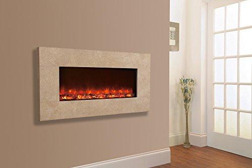 Celsi Designer Fire - Travertine 1100