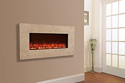 Celsi Designer Fire - Travertine 1300
