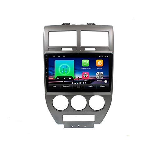 2G + 32G Android 10 estéreo de Coche para Jeep Compass 1 MK 2006-2010 Radio de Coche Reproductor de vídeo Multimedia...