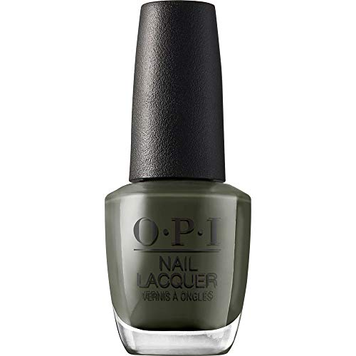 OPI Nail Lacquer Nagellack, Things I've Seen In Aber-Green, 1er Pack (1 x 15 ml)