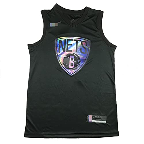 YDHZ NÉTS 7# DURÁNT Nuevo Temporada Jersey de Baloncesto Baloncesto Bordado Chaleco Camiseta de Manga Transpirable de Malla black1-XXL