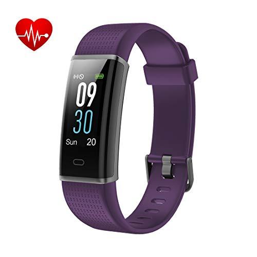 Yuanguo Fitness Tracker Orologio Fitness Bracciali Impermeabile IP68 Nuoto Cardiofrequenzimetro da Polso Contapassi Pedometro Calorie Distanza Sonno Activity Tracker Sport Smart Watch