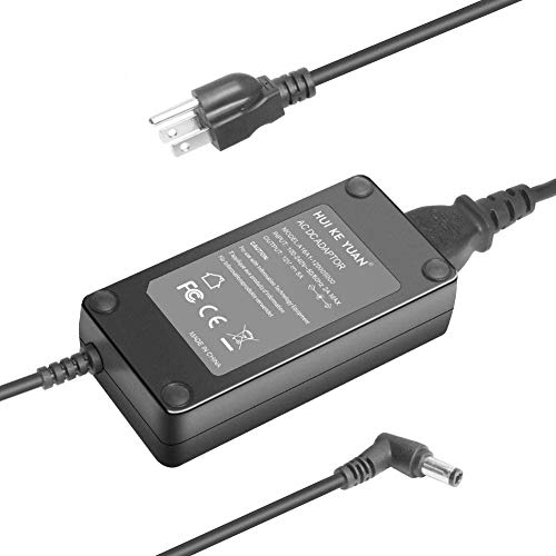 HKY 12V 60W AC Adapter Charger for Acer ED273 ED273A ED273 ED322Q wmidx LCD Monitor Power Supply 12V 5A Acer ED273 wmidx / ED273wmidx 27' Curved Display Monitor Replacement Power Cord Cable Plug