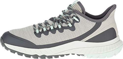 Merrell womens Bravada Hiking Shoe, Aluminum, 8.5 US