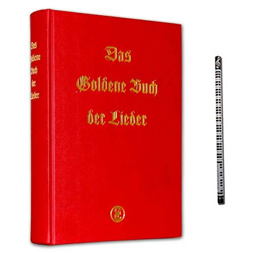 Het gouden boek van de liedjes- en kunstliedjes voor zang en piano - Songbook met muziekstift - Uitgeverij Edition Erdmann 9783771000004