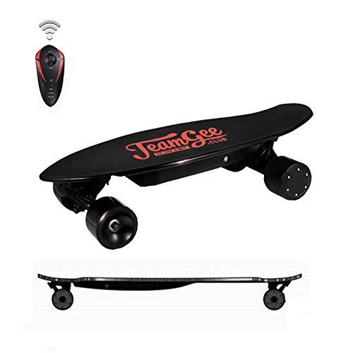 Skate Eléctrico, Longboard Eléctrico Scooter eléctrico de Entretenimiento para niños/jóvenes con Motor Potente de 350 vatios,25 km/h para brindarle una...