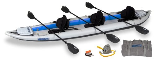 Sea Eagle 465 FastTrack Inflatable Kayak Pro Package