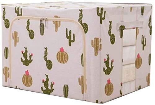 Caja de almacenamiento caja de almacenamiento algodón y ropa ropa caja de almacenamiento tela hierro acero marco plegable edredón juguete impermeable caja de almacenamiento caja de almacenamiento caja