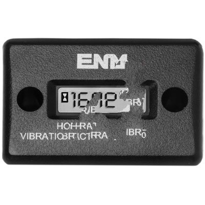 ENM Company T56F1 , HOUR METER, VIBRATION ACTIVATED, WATERPROOF, RECT SURF MT, 8 YR BATTERY