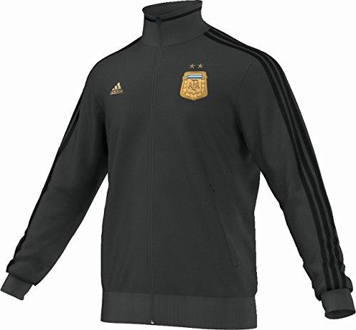 adidas Herren Trainingsjacke AFA Messi Track Top, Dgh Solid Grey/Black/Light Football Gold, XL