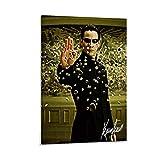 QWSDF Keanu Reeves Junges Poster, dekoratives Gemälde,