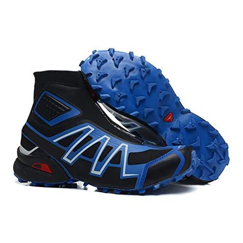 Jishu Botas impermeables para hombre de moda, zapatos de natación al aire libre, zapatillas de deporte de playa