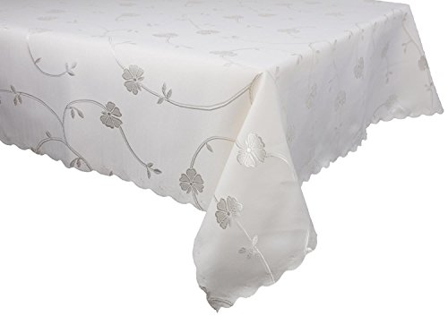 dkaren de elegante impermeable Mantel Mesa paño para cualquier ocasión (o526–9) Chocolate, plástico, beige, 140 x 220 cm