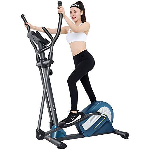 Dfghbn Entrenador Eliptico Elíptica Cross Trainer Máquina de Bicicleta de Ejercicios de Fitness Inicio Equipo de Gimnasio for Home Fitness Equipo De Gimnasio En Casa De Entrenamiento Físico