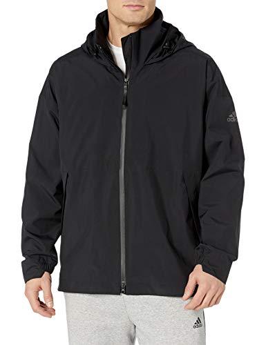 adidas Originals Urban Rain.rdy - Chaqueta para hombre - GKC92, Urban RAIN.RDY - chamarra impermeable, XL, Negro