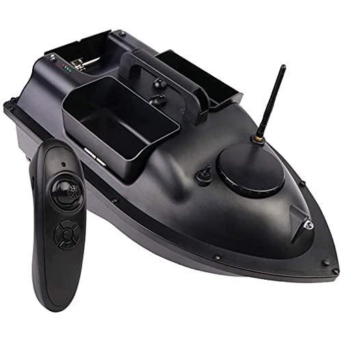 GDAFF Barca Esca da Pesca Barca Telecomandata Esca con GPS Barchino Carpfishing Professionale per Appassionati di Pesca e Pescatori 3 Tramogge per Esche Carico di 2 kg