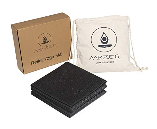 Esterilla Yoga Plegable y Antideslizante – Yoga Mat Perfecta para Yoga...
