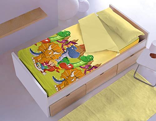 Denisa Home - Saco Nordico con Relleno Dinos (90 cm)