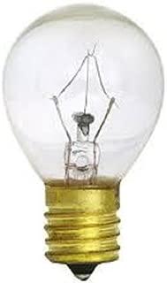 ABE (5pack) S11 HIGH INTENSITY 25-WATT 120V LAVA LAMP 25W LIGHT BULB E17 INT. BASE CLEAR