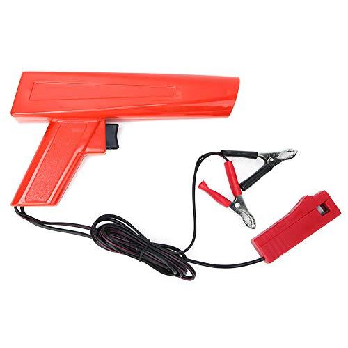Pistola de sincronización de encendido del motor Probador de bobina de motor Luz de sincronización Probador de luz de sincronización de xenón inductiva Luz estroboscópica para automóviles, motocicleta