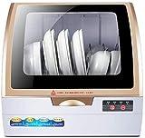 Sooiy Mini lavavajillas domésticos automáticos Inteligentes Lavadora de Platos de Escritorio pequeño 360 ° estéreo Spray de Limpieza lavavajillas 2020