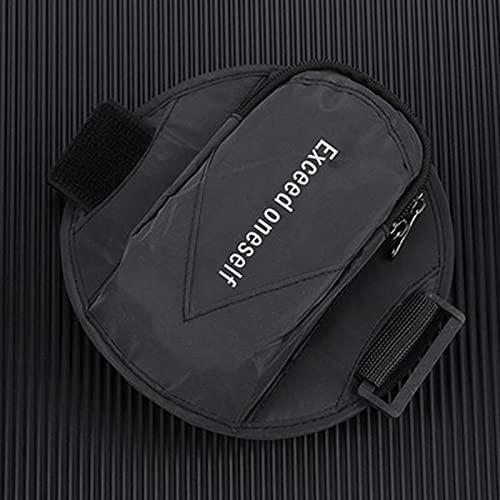 FDSfdGY Brazalete para correr, lindo mini bolso para correr hasta 6.5 pulgadas, soporte para teléfono con brazo, compatible con iPhone 11 Pro Max/Xr/Xs Max/X/12/8/7 Plus (negro)