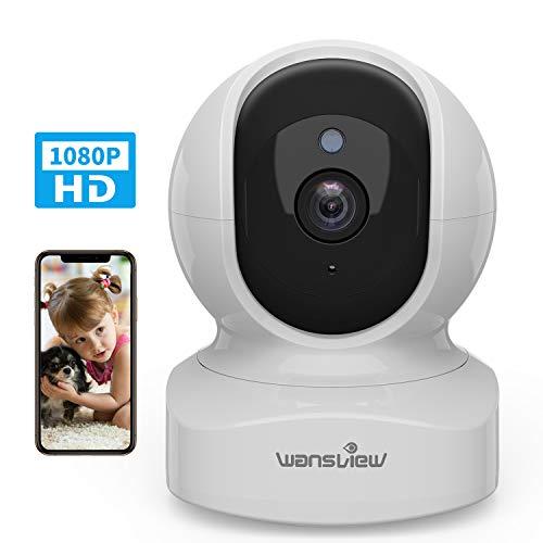 Caméra Surveillance WiFi, Wansview 1080P Caméra IP WiFi Intérieur avec Détection de Mouvement, Audio...