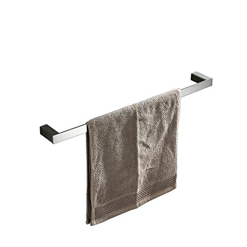Beelee Badezimmer-Handtuchhalter, SUS 304 Edelstahl_Stahl, chrome, 40 cm