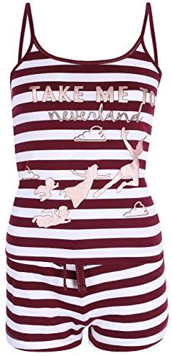 Pijama roja de Rayas Peter Pan Disney XXS