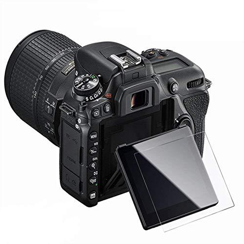 KIMILAR Compatible for Nikon D7500 Pellicola Protettiva, (3 Pezzi) Proteggi Schermo in Vetro Temperato per Nikon D7500
