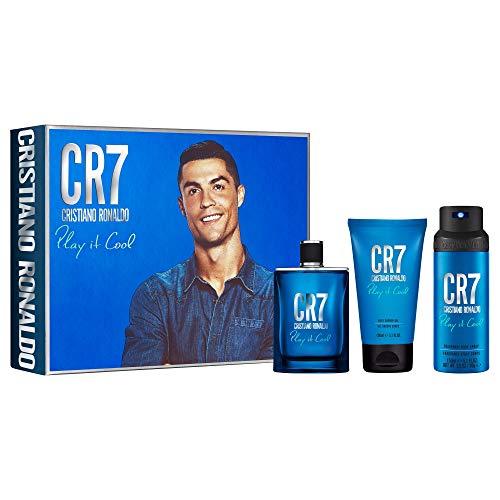 Cristiano Ronaldo CR7 Play It Cool Set 100ml Eau de Toilette + Duschgel 150ml + Bodyspray 150ml, 400 ml