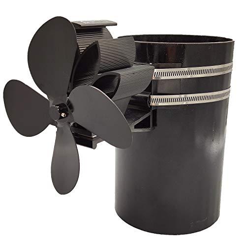 Gesh 4 Parar el ventilador eléctrico del horno ventilador de la estufa del ventilador en la chimenea