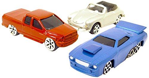 Wonderkids - A1400126 - Véhicule Miniature - Modèle Simple - 3 Pièces - Coloris aléatoire