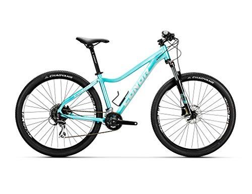 "Conor 7200 27,5"" Lady WM Bicicleta, Adultos Unisex, Azul (Azul), M"