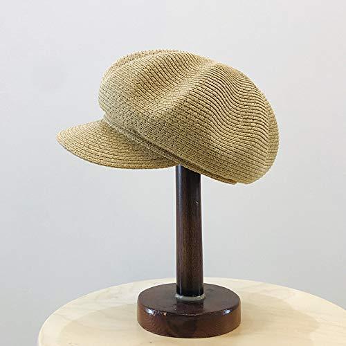 sdssup Sombrero de Calabaza de Viaje Gorra de béisbol Hembra Xia Fan Caqui M código 58CM