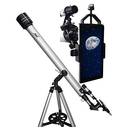 Seben Telescopio Refractor 900-60 + Smartphone Adaptador DKA5
