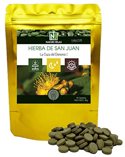 Hierba de San Juan/NAKURU Relax/Polvo orgánico seco y
