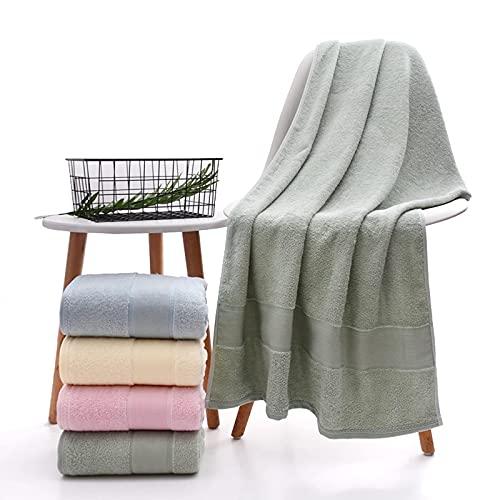 YYZ Juego de Toallas de baño (2 Paquetes), Toalla de baño de Fibra de bambú, Toalla de baño de Regalo, Toalla de baño Absorbente y súper Suave, Adecuada para el Uso Diario