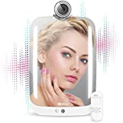 HiMirror Plus+ with Amazon Alexa voice service : Beauty smart mirror with LED makeup lights, your beauty consultant skin analyzer, innovative makeup mirror