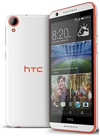 HTC Desire 820 (16GB, 4G LTE, White and Red)