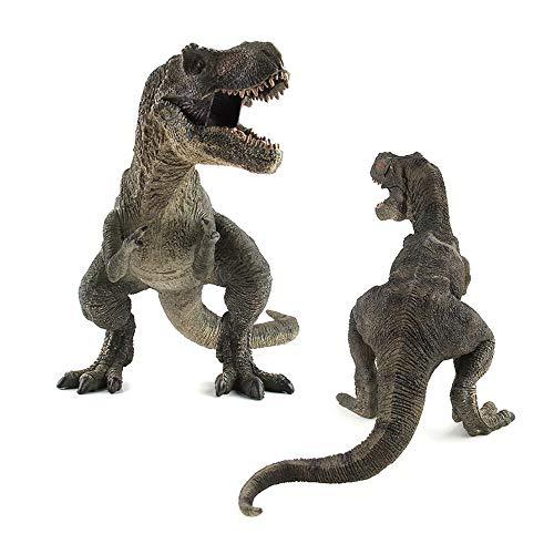 Sipobuy Dinosaurier Tyrannosaurus Rex Spielzeug, große statische Dinosaurier Modell, Jungen Kinder, grün