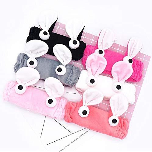 takestop® haarband, elastisch, voor wenkbrauwen, voor make-up, gezichtsreiniging, zachte microvezels, hoofddoek, haaraccessoires