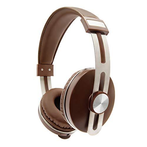Fone de Ouvido Bluetooth, Over Ear, autonomia 14 horas, AerUrban, Marrom, AER04BN, AER by Geonav