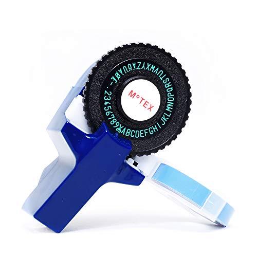Etichettatrice a rilievo tipo dymo E101 (AZUL)