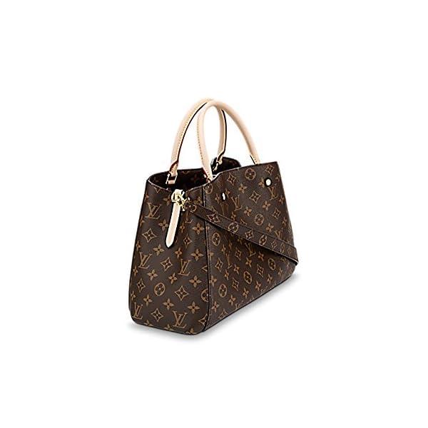 Fashion Shopping Louis Vuitton Montaigne MM Monogram Handbag Article: M41056 Made in France