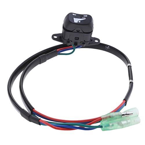 MagiDeal Interrupteur à Bascule Et Inclinaison Hors-Bord 37850-93J10 pour Suzuki Hors-Bord Moteur