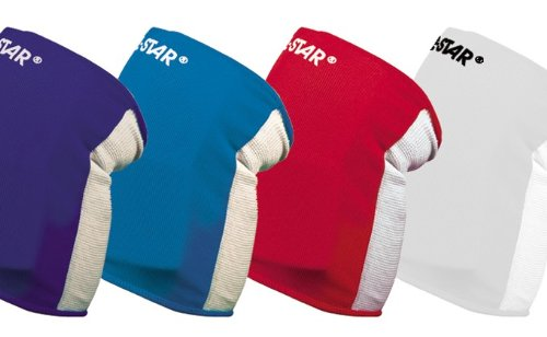 All Sports Durable Adult Knee Pads (Basketball, Volleyball, etc). 4 Sizes/5 Colors (Scarlet Red, Adult Small)