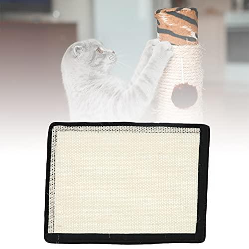 CUTULAMO Rascador Horizontal para Gatos, Respetuoso con el Medio Ambiente Seguro Duradero Ligero y Resistente Diseño Multiusos No tóxico Rascador para Gatos Cartón para el hogar(L)
