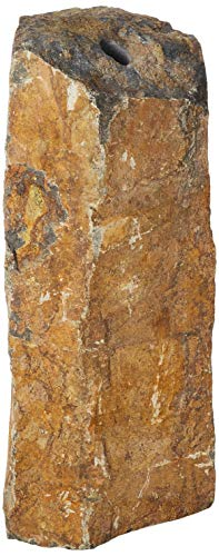 """Aquascape 98503 Natural Stone Mongolian Basalt Column Fountain, 30"""", Brown"""